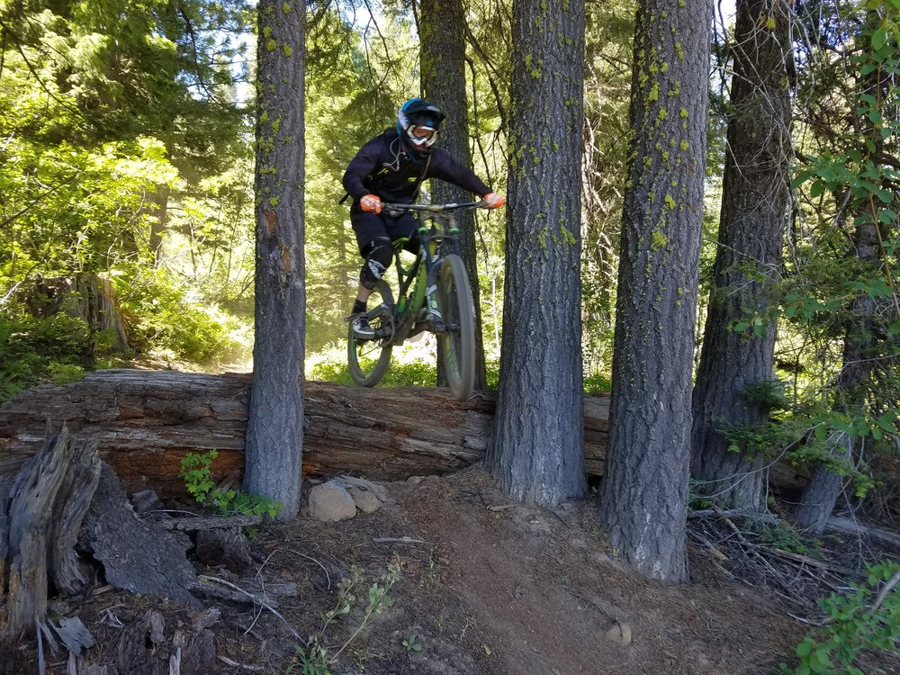 5)  Tamarack    Tamarack finally reopened in 2016 after being closed for a long time due the real estate crash. The trails at Tamarack are a blast an we are glad to have it reopened. It is best to ride this park in the early season since it can get dusty. The best part about this park is how easy they make it to ride with different skill levels. Super G is the main intermediate trail that runs right down the heart of the mountain, but off Super G there are numerous single black diamond options. This means you can break off and challenge yourself and then join back up with the group on Super G.