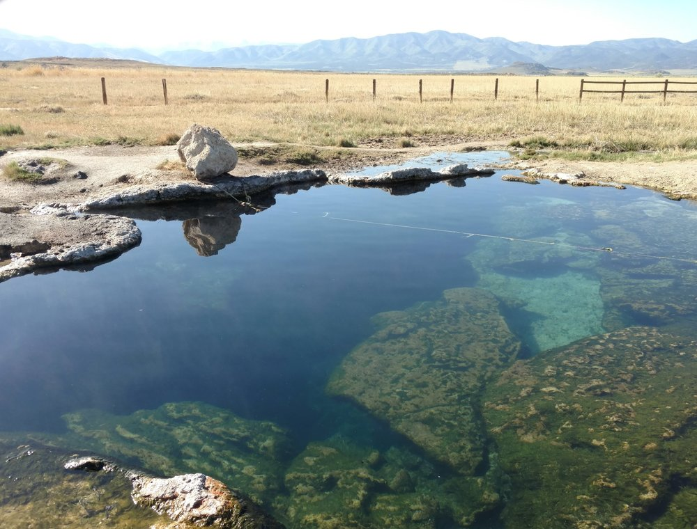 Meadow Hot Springs is a great stop off I-15 on your way to exploring southern Utah.
