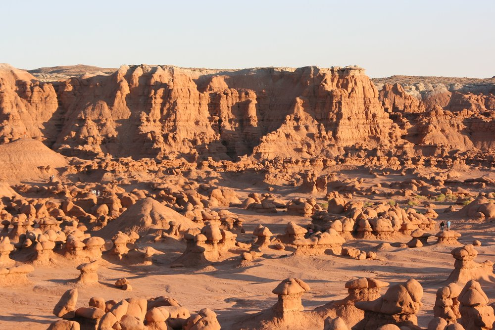 Goblin Valley State Park homes very unique erosion that you can explore off trail.