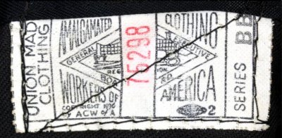 Tag used from 1936-38.  Identical to previous tag, but look closely and notice that the copyright date has been updated to 1936.