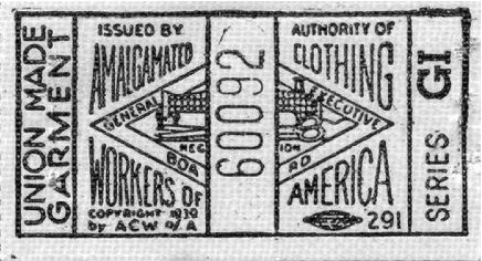 Tag used from 1939-48.  Identical to previous tags but notice the copyright date has been updated to 1939.