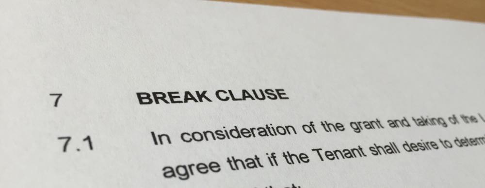 Are Break Options Worth It Tenant Advisory Group