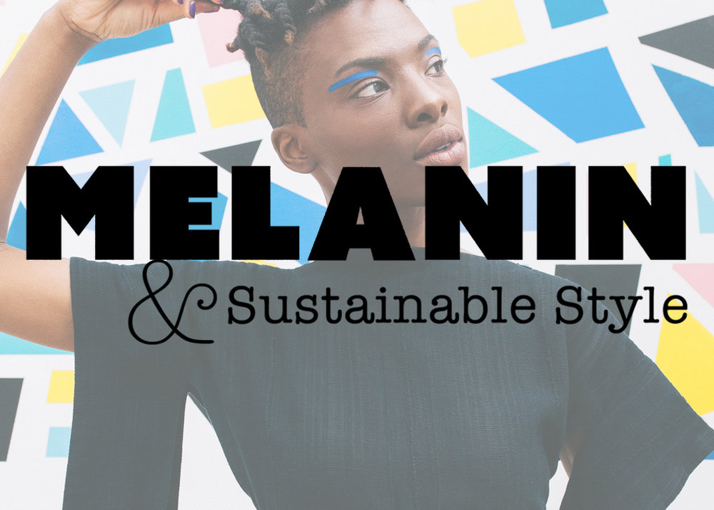 Let's Start Off Autumn With An Exclusive MelaninASS Shoot Celebrating Abstract Royalty - September 22, 2017