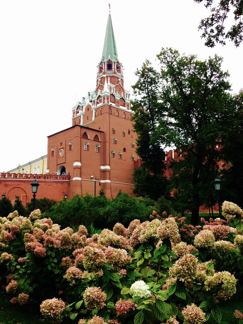 Flower Power Kremlin