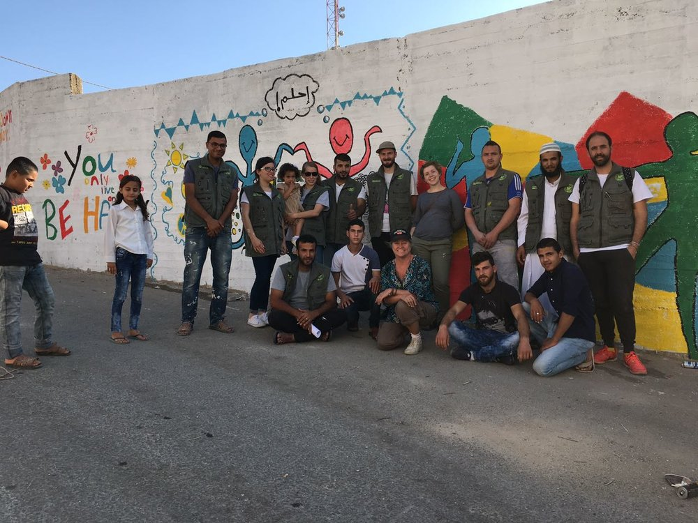 Najah University Community Service Group