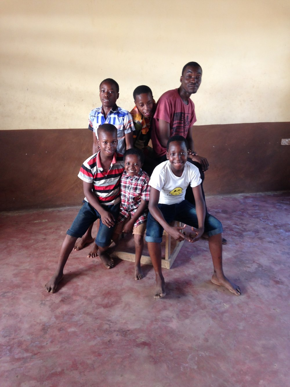 My little monsters comedians from Barnabas orphanage
