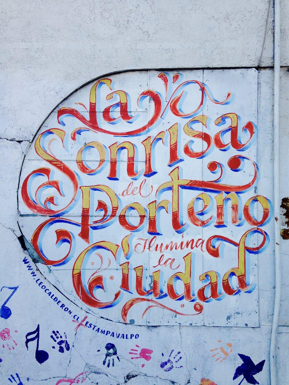 Valparaíso, con amor!