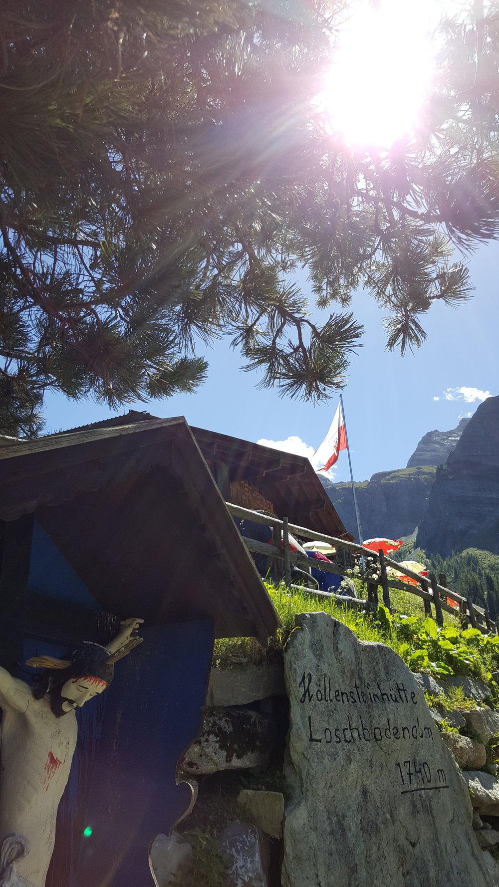 Höllensteinhütte