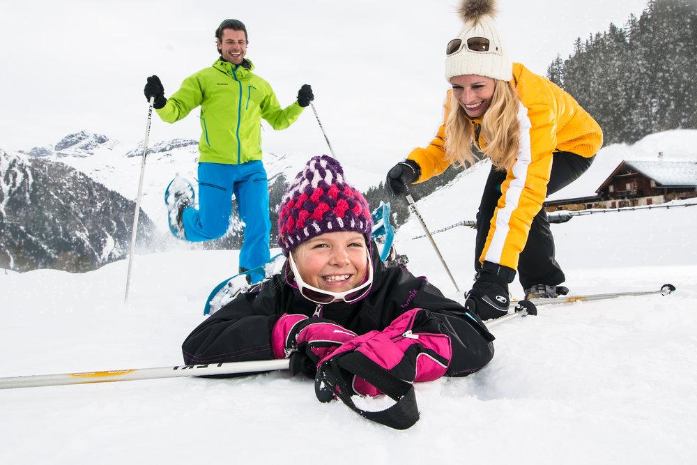 Familie Winterwandern