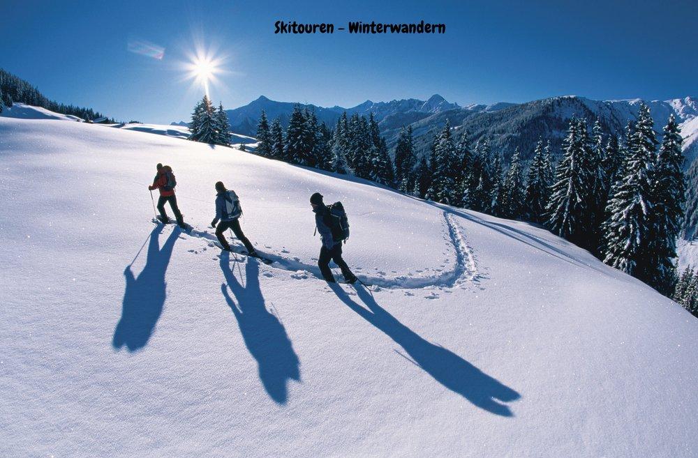 Skitouren - Winterwandern