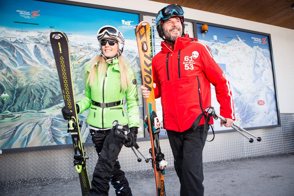 Hintertuxer Gletscher - 365 Tage Skifahren