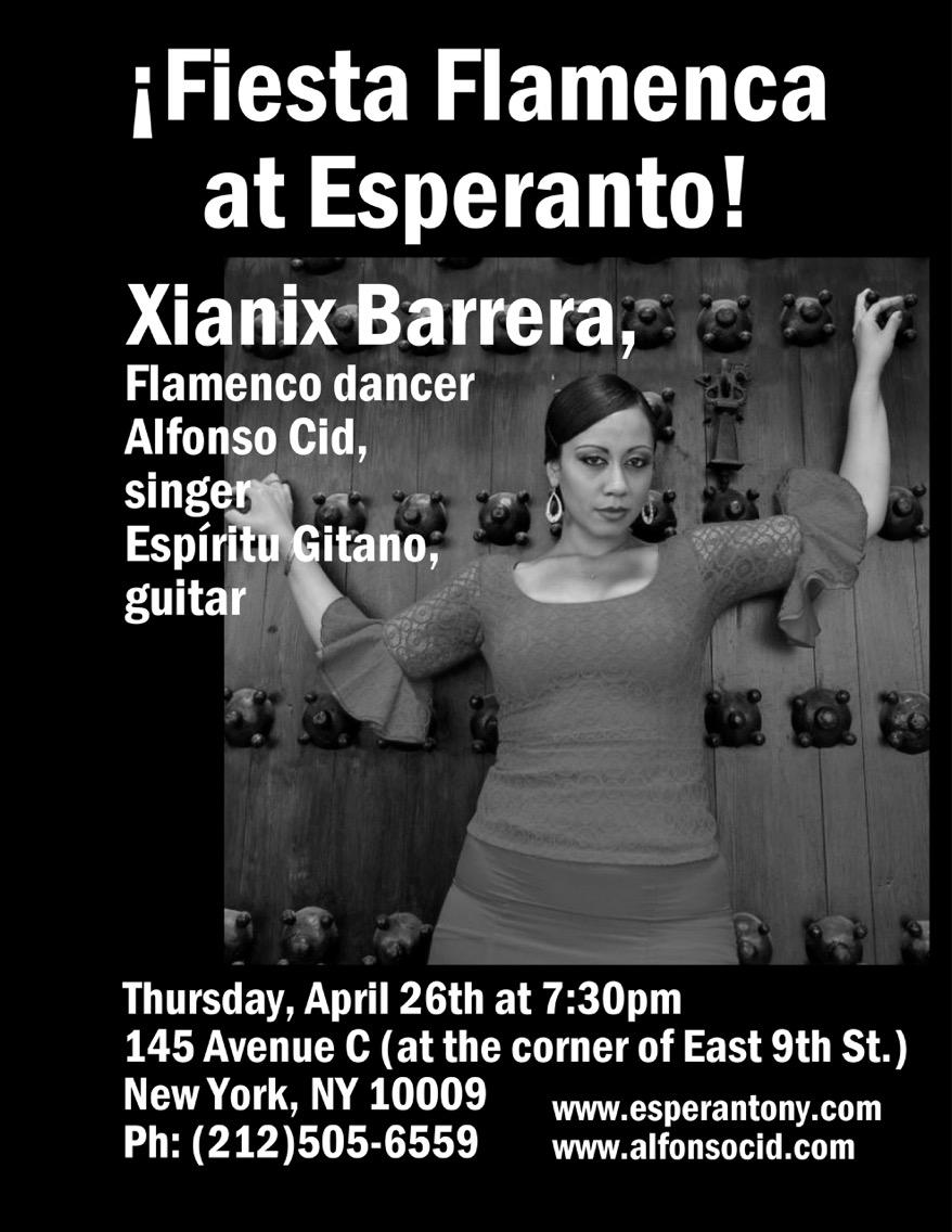 Thursday, April 26 at 7:30pm - no cover!