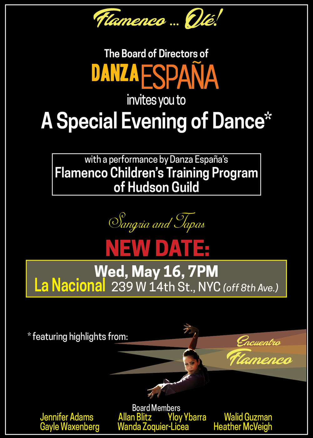 Featuring Flamenco, Indian Kathak and Middle Eastern dances! -