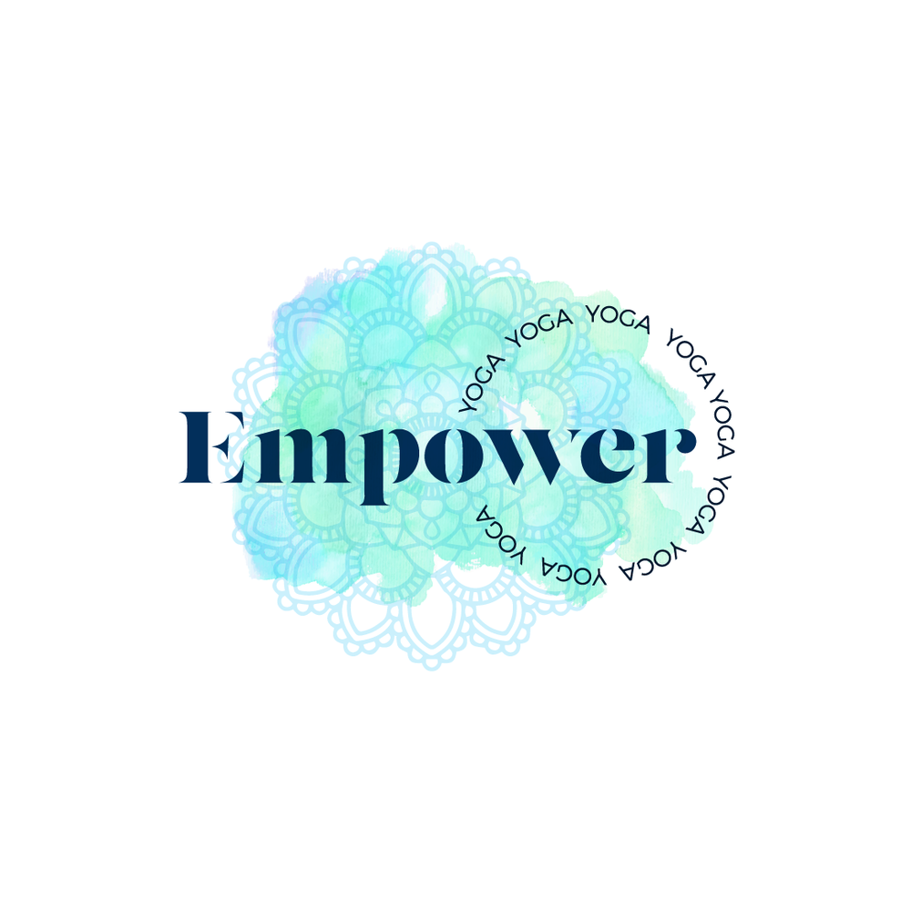 Empower Yoga logo.