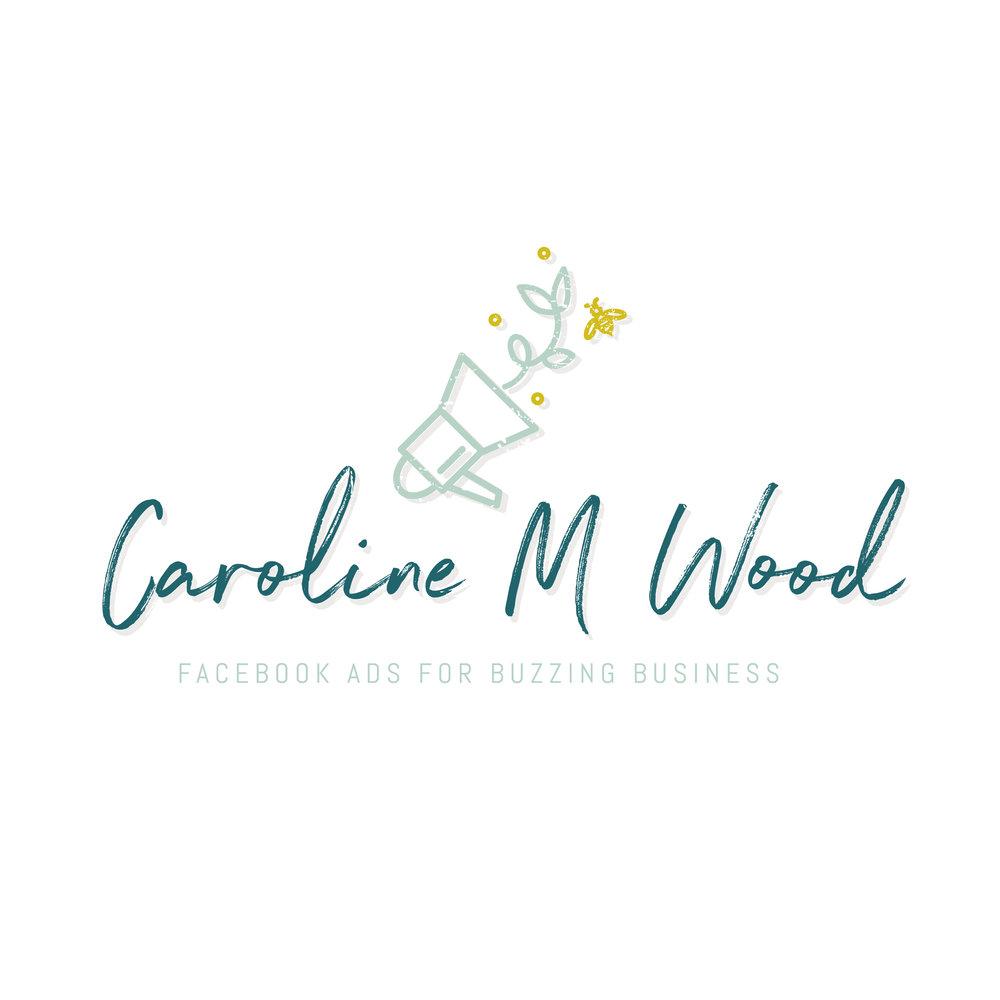 Caroline M Wood main logo.