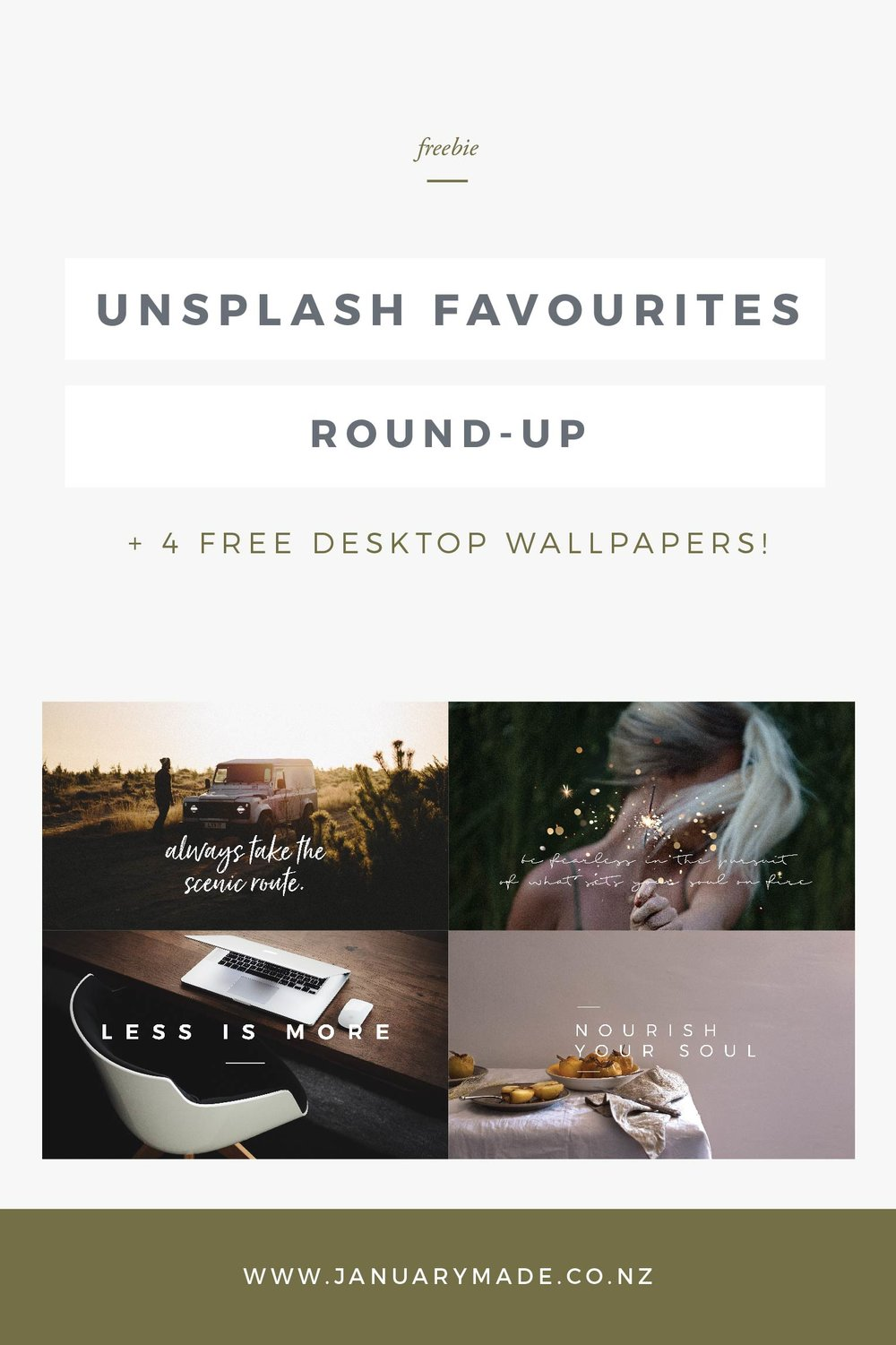 Unsplash Favourites Round-Up + FREE Desktop Wallpapers