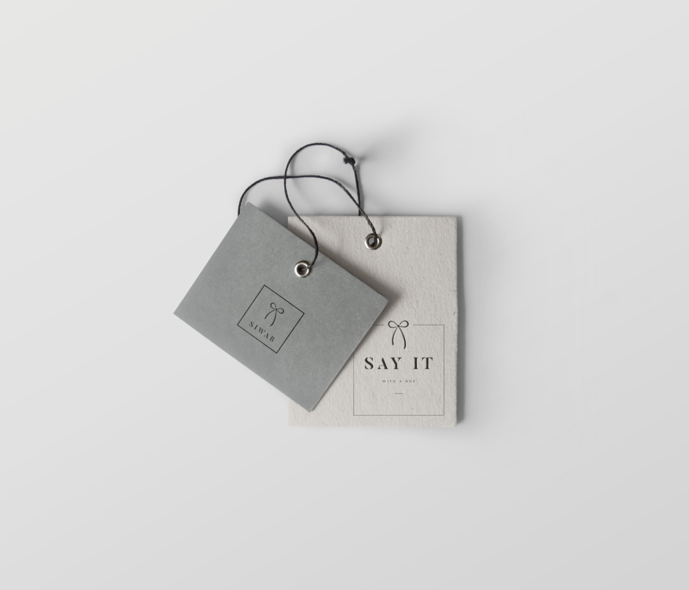 Say it with a Box tag concept.