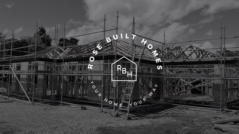 Rose Built Homes logo over image.