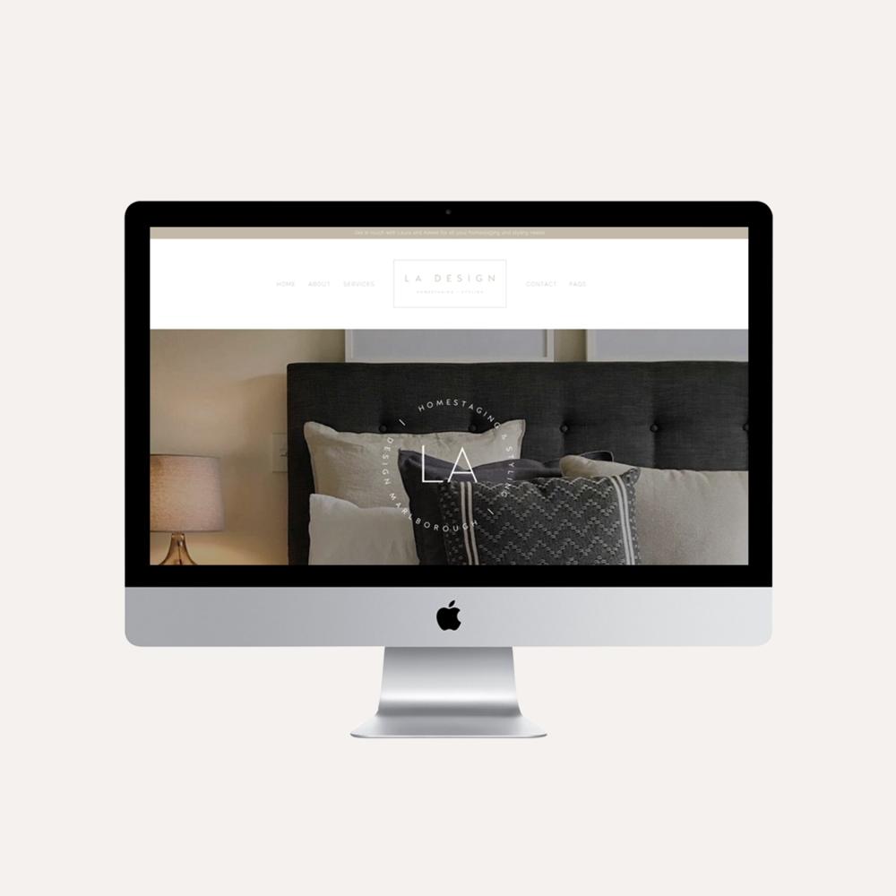 LA Design Marlborough website.