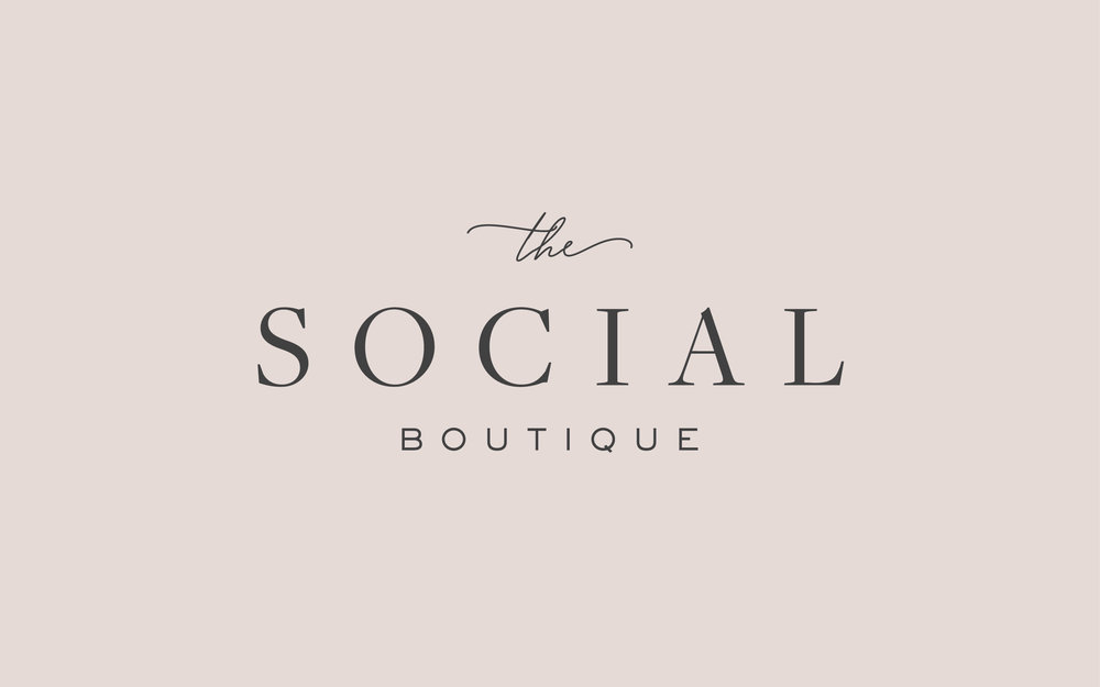 The Social Boutique main logo.