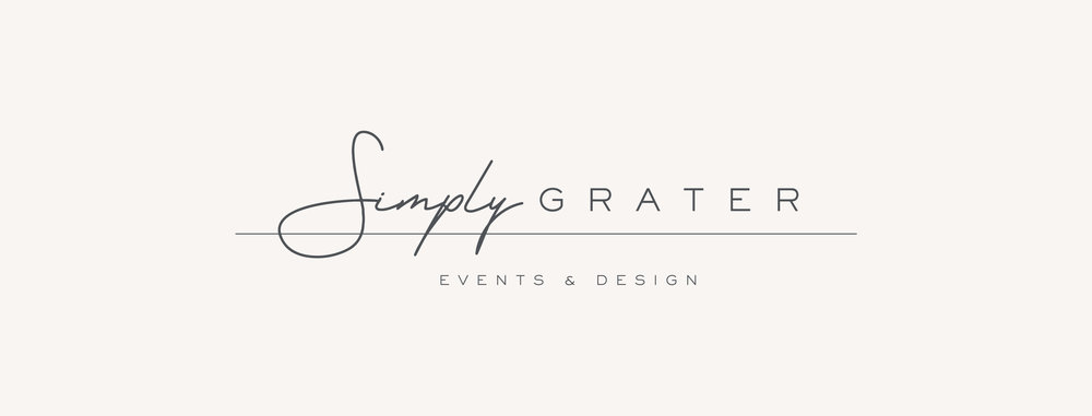 Simply Grater Events & Design - January Made Design