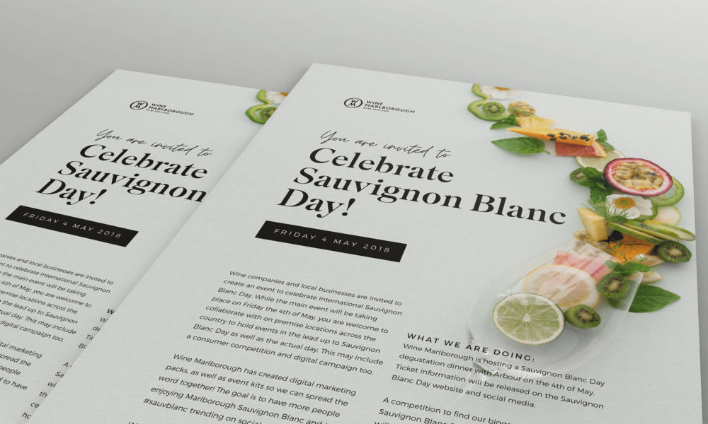 Sauvignon Blanc Day 2018 - January Made Design