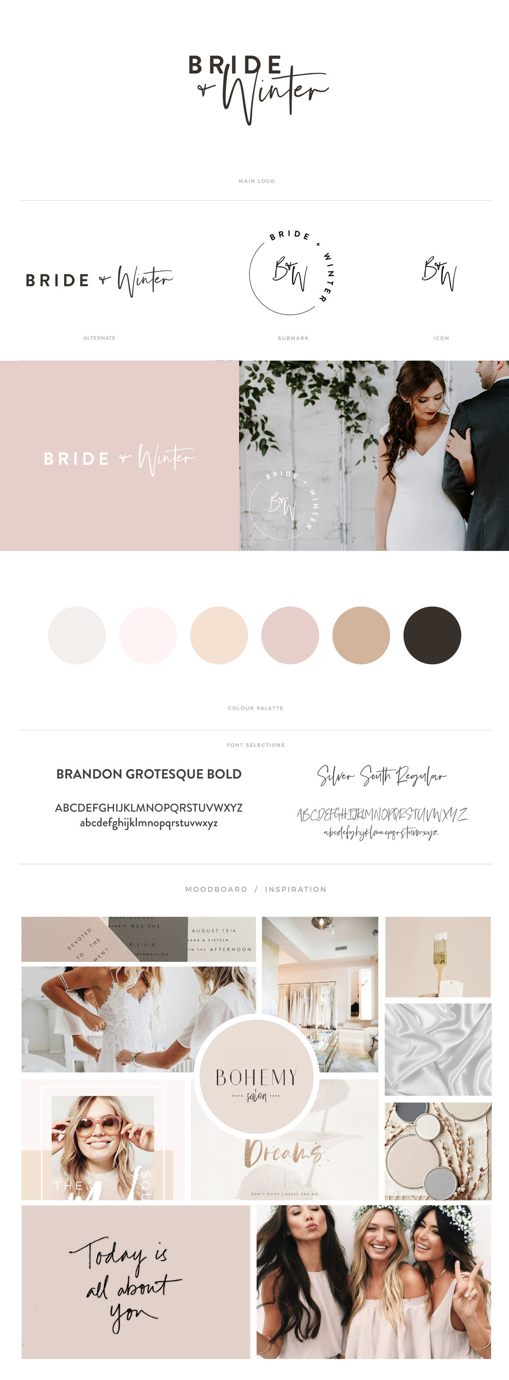 Bride & Winter by January Made Design