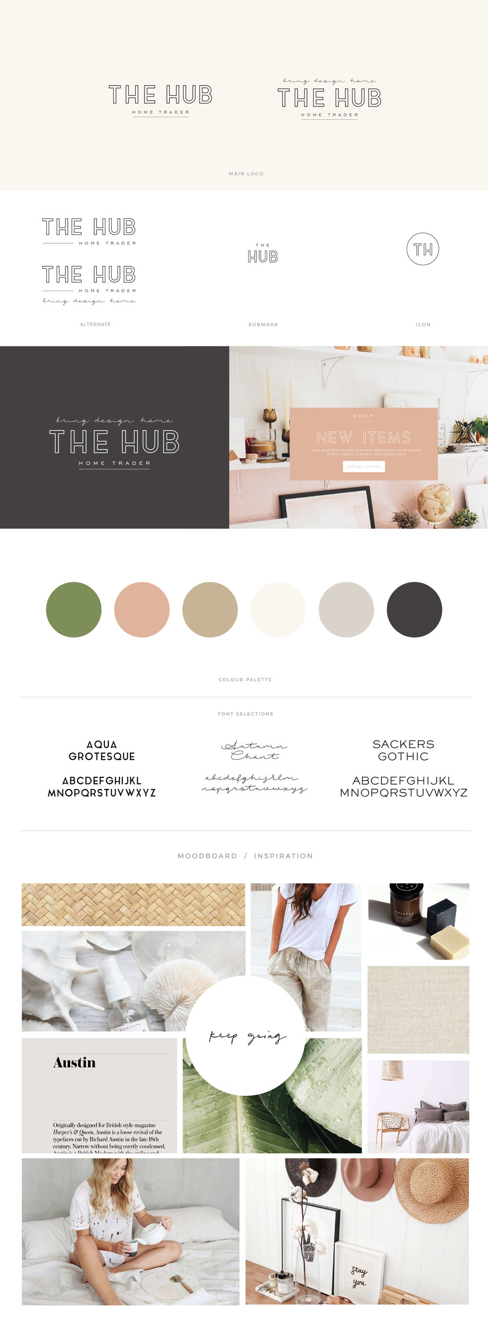 The Hub Home Trader - by January Made Design