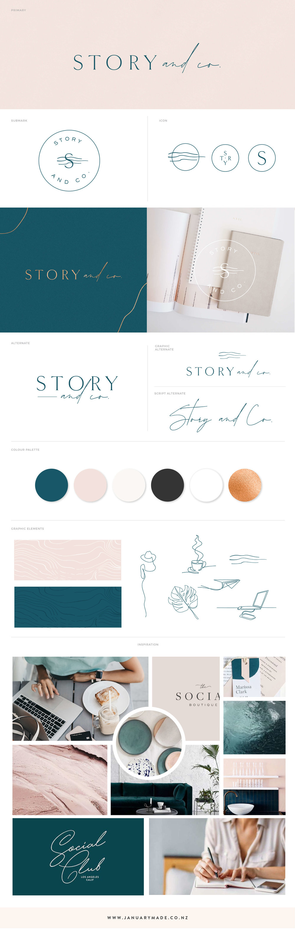 Story & Co. - January Made Design