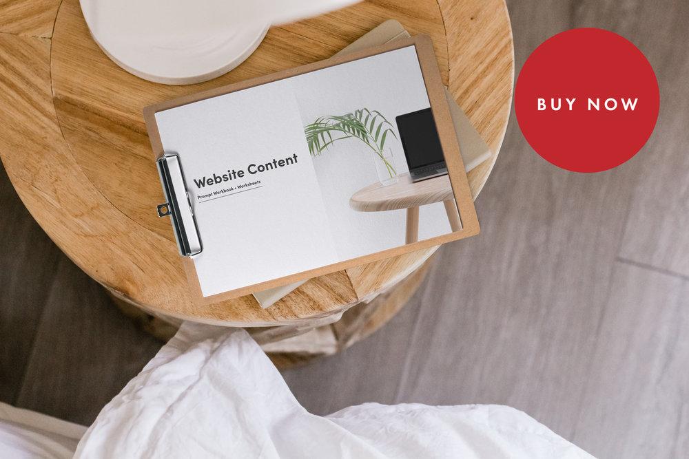 Unbranded Content Prompt Workbook - $25.30