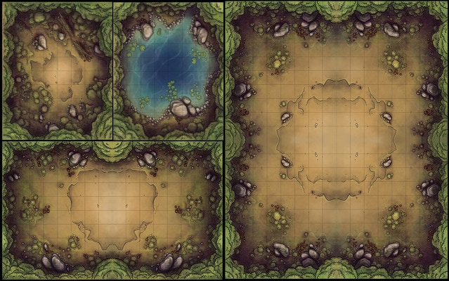 Tile-able forest maps - Explore the vast depths of an old-growth forest