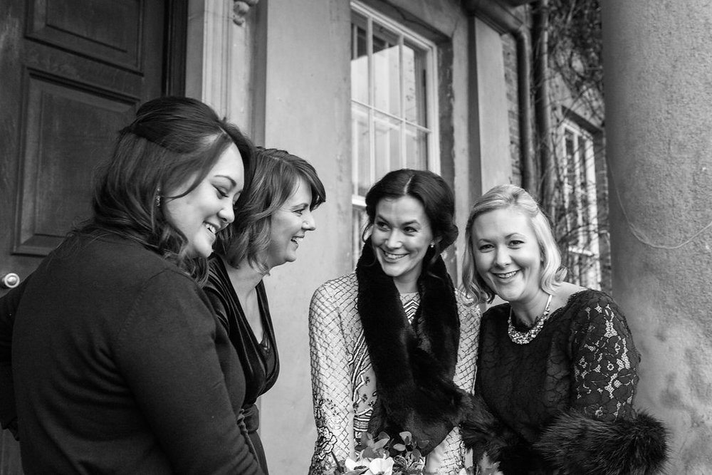 Me and my beautiful bridesmaids. Photo courtesy of Olivia Moon Photography
