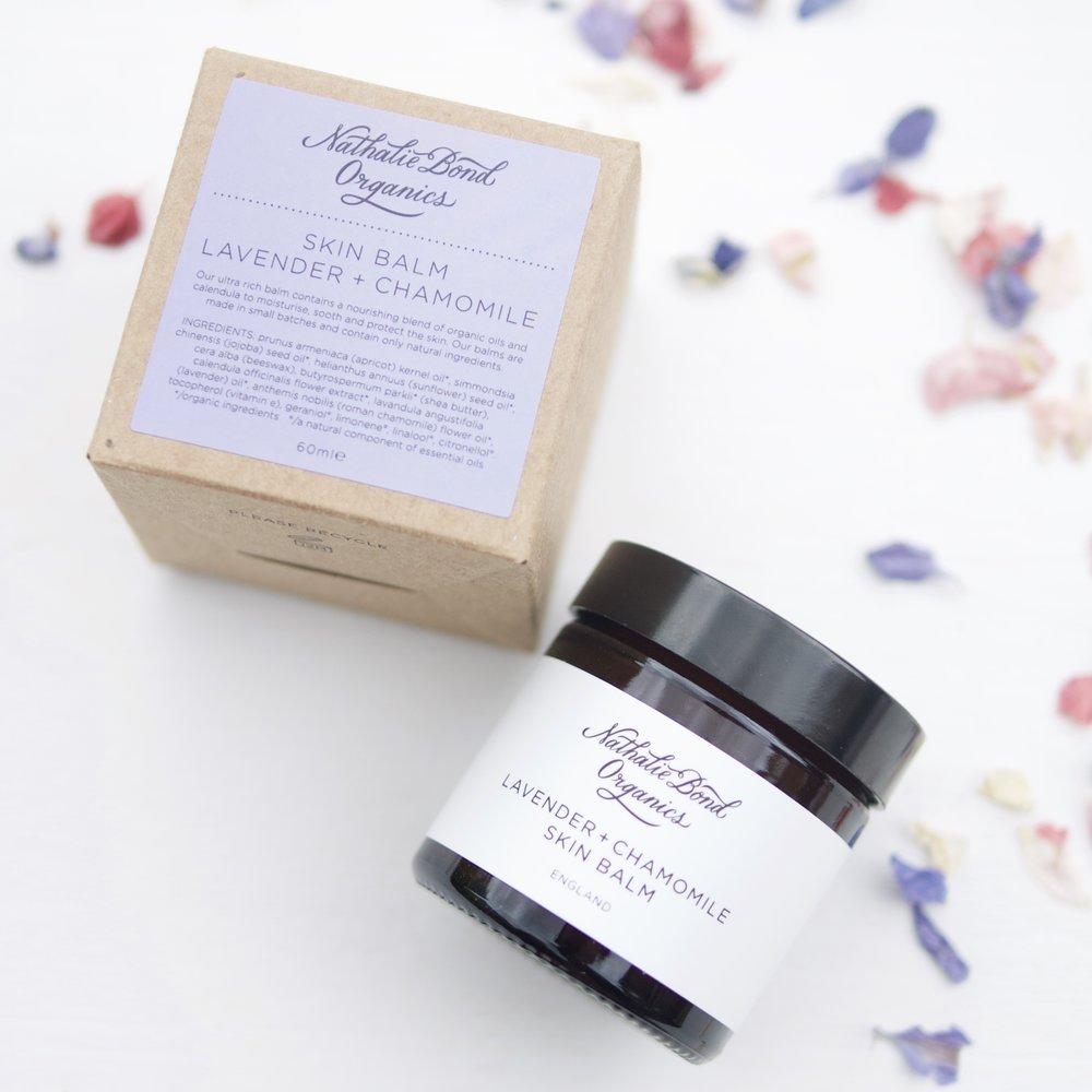 Nathalie Bond Organics Lavender and Chamomile Skin Balm