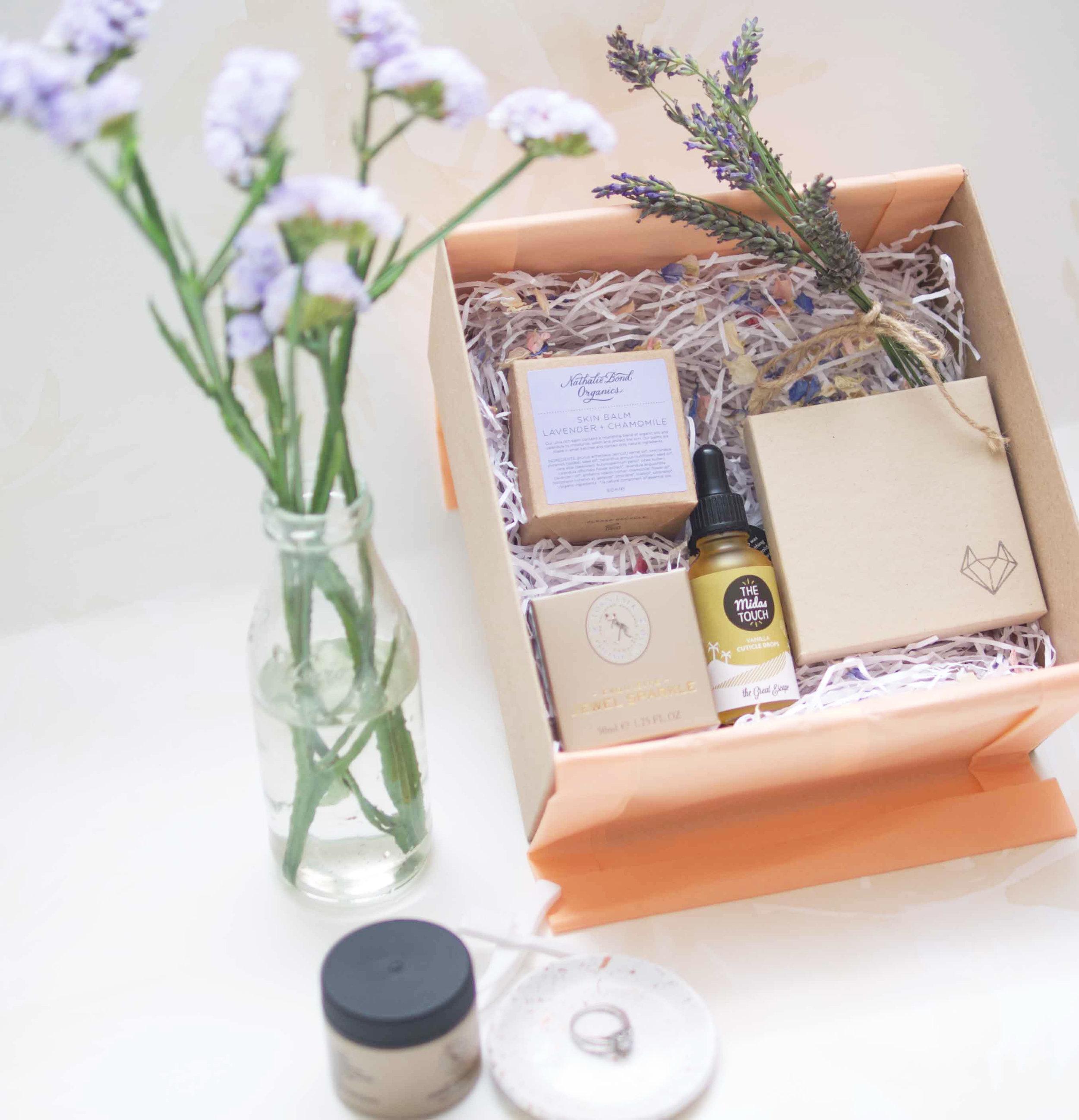 Sparkler Ring Selfie Engagement Gift Box