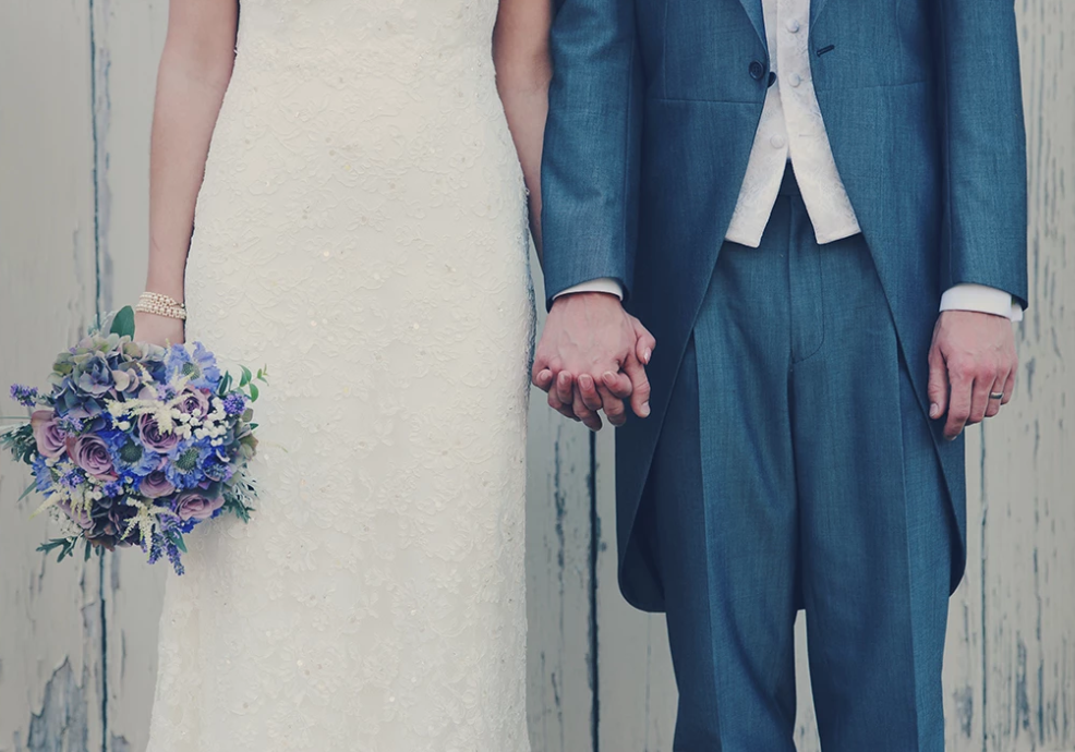 A fellow romantic - this walk down the aisle story had us welling up!
