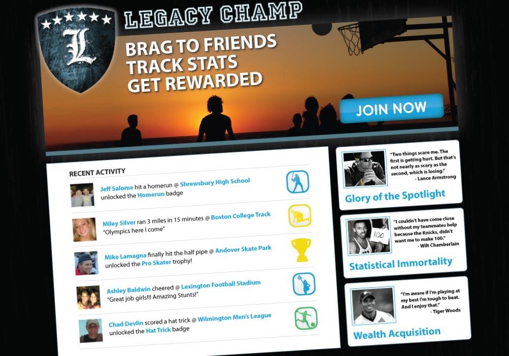 Legacy Champ Web Design