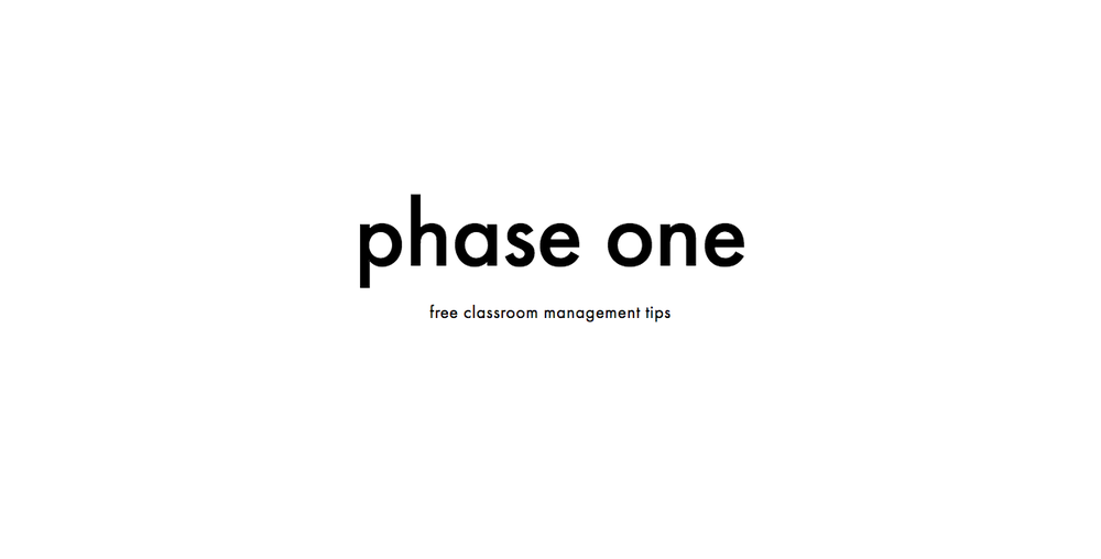 phase one poster