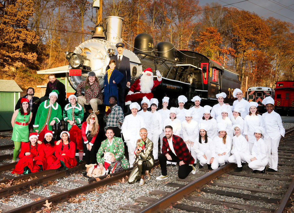 Cast and crew of The Polar Express, directed by the awesome Vance Garrett and Crystal Anderson.