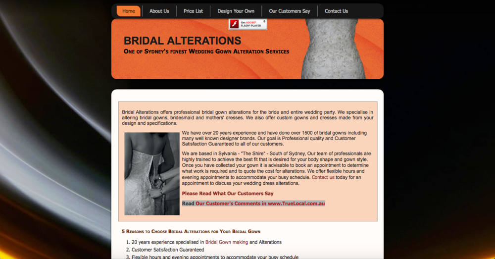 Bridal Alterations – Irene