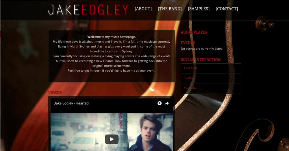 Jake Edgely – Amazing Musician