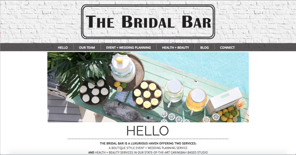 The Bridal Bar – One stop shop