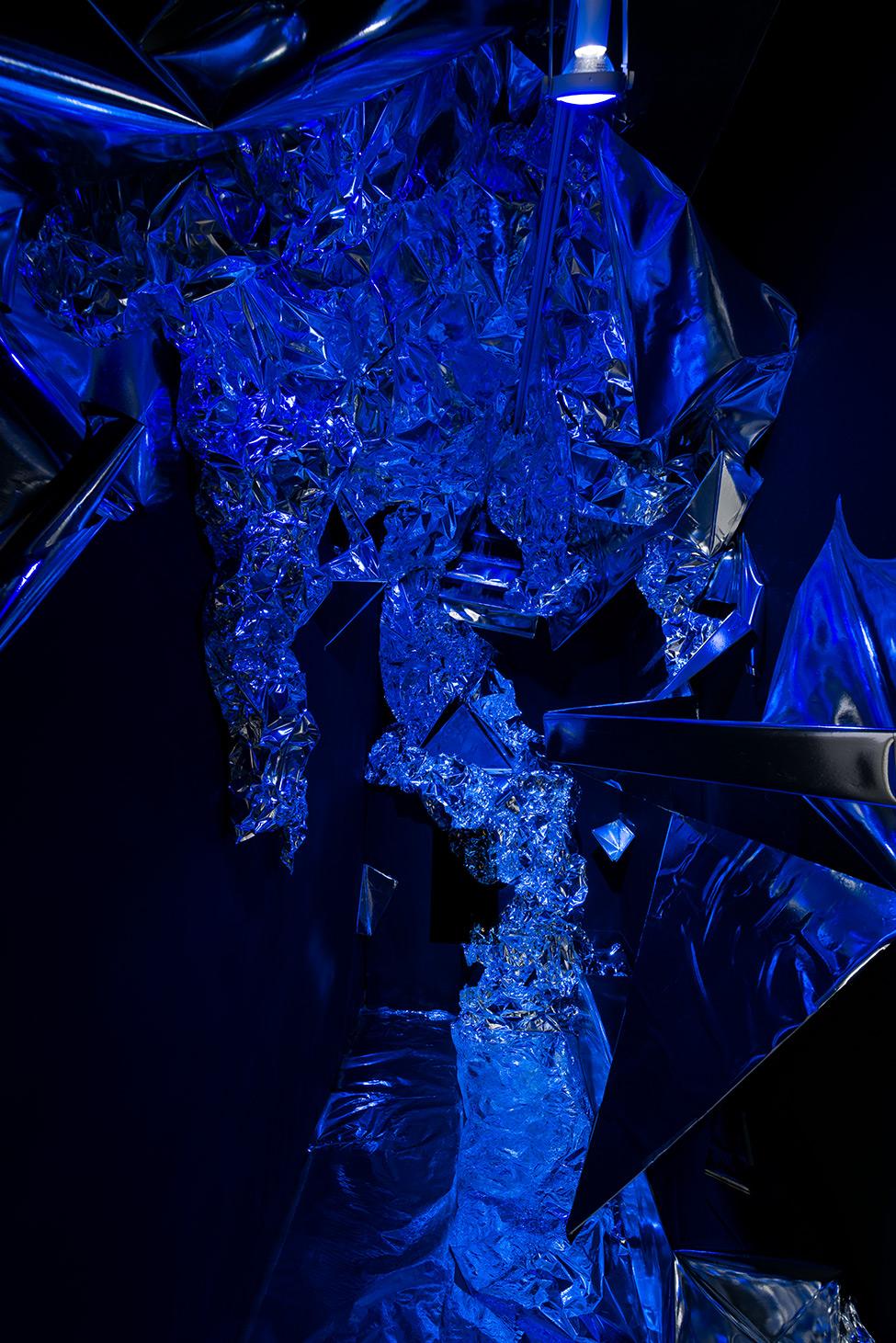Mixed media &sound installation  The Cyborgian Other  [2015]