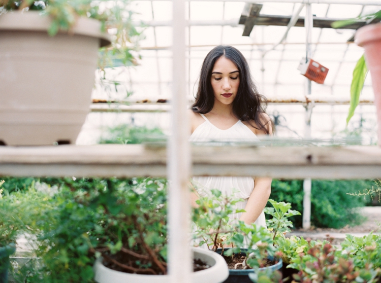 greenhouse, film, bridals, wedding