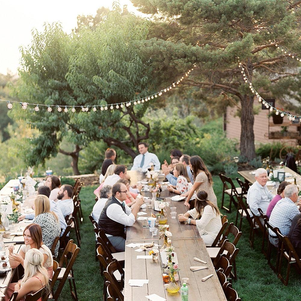 Kim & Alex - lds temple & backyard wedding | utah