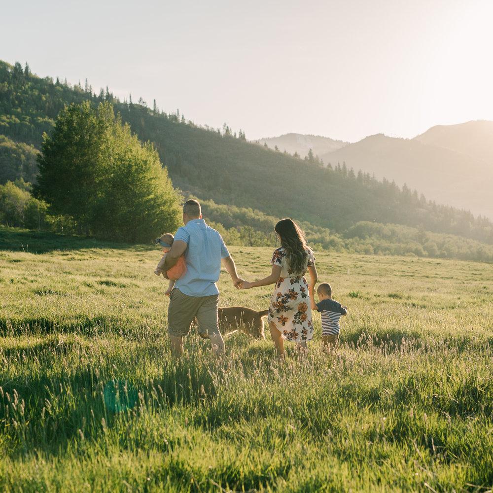 Broadbent Family - Mountain Family Session