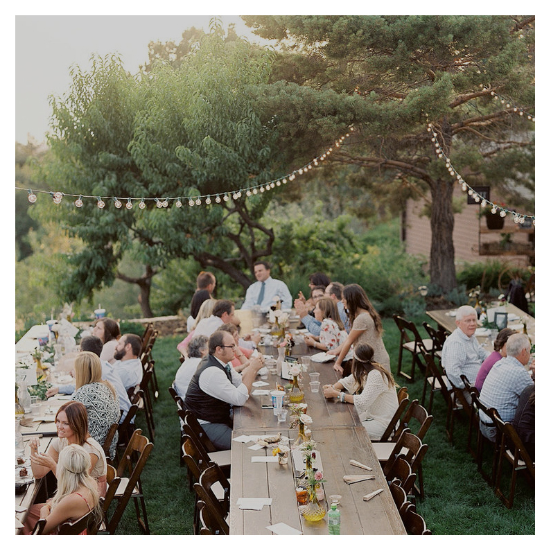 KIM & ALEX - lds temple & backyard wedding