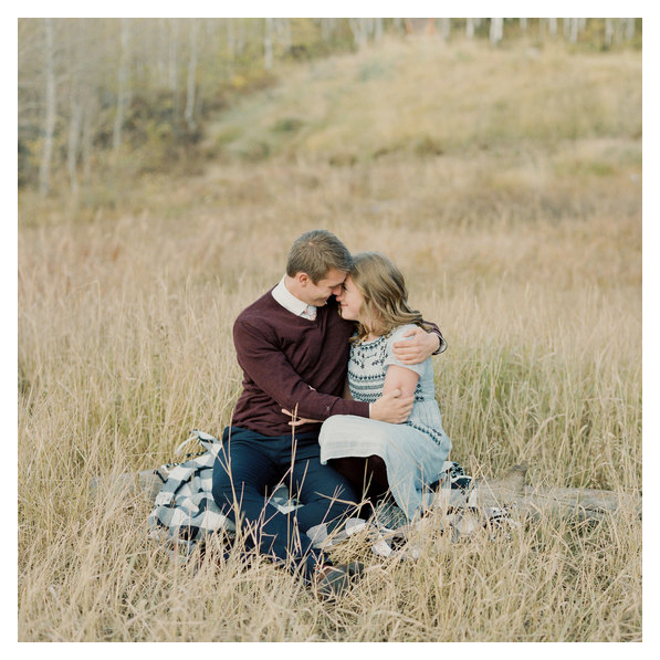 SHAELYN & TYLER - mountain engagement session