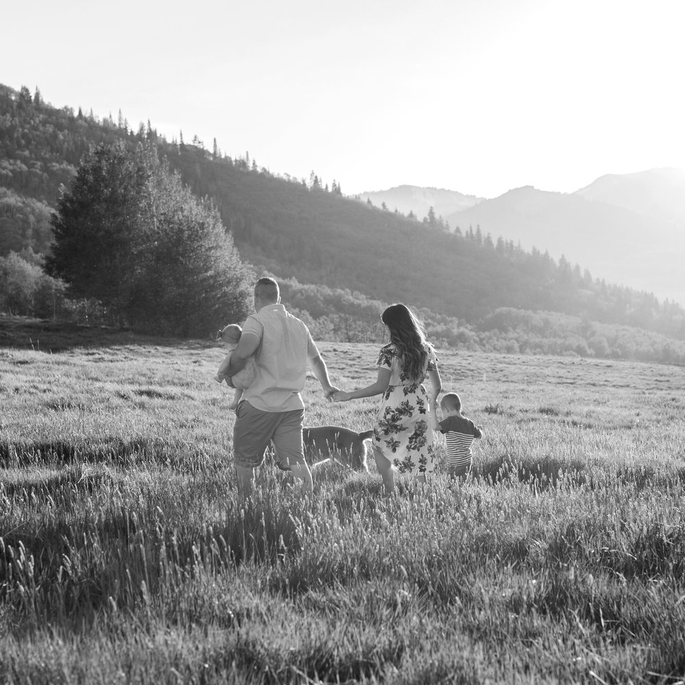 Broadbent Family - Mountain Family Session