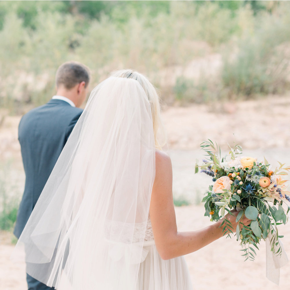Katelin & Tony - Zion National Park Wedding