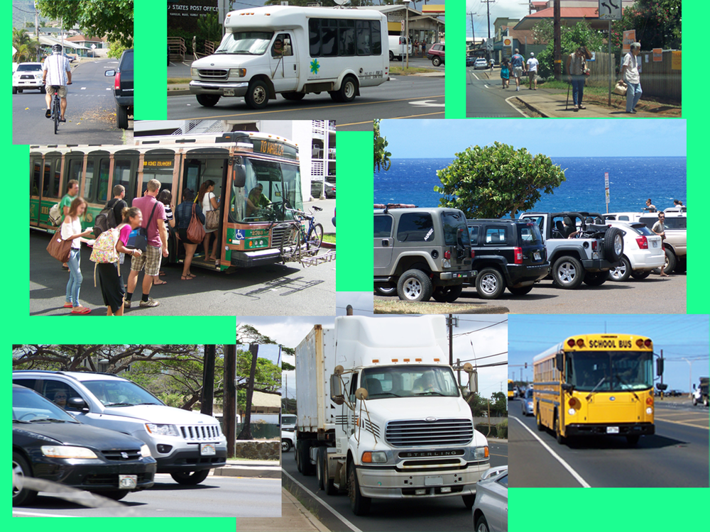 A complete transportation must provide safe efficient use by all modes and for all purposes.